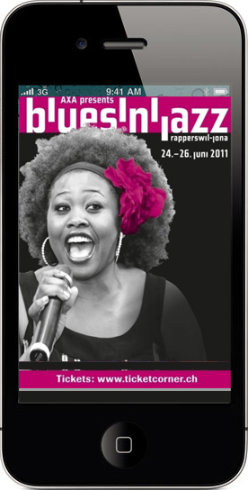 blues'n'jazz App - Festival App fantonnet